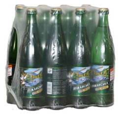 Упаковка минеральной газированной воды Лужанська 0.5 л х 12 бутылок (4820001830026) от Rozetka