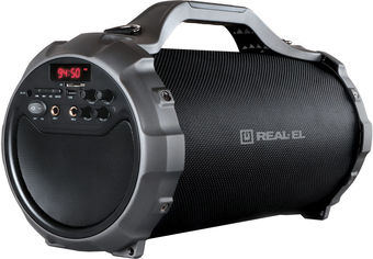 Акция на Акустическая система Real-El X-750 Black (EL121600003) от Rozetka