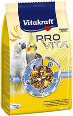 Акция на Корм для средних попугаев Vitakraft Pro Vita с пробиотиком 750 г (4008239337412) от Rozetka