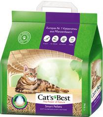Акция на Наполнитель для кошачьего туалета Cat's Best Smart Pellets Древесный комкующий 5 кг (10 л) (4002973000885) от Rozetka