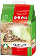 Наполнитель для кошачьего туалета Cats Best Original Древесный комкующий 8.6 кг (20 л) (4002973186695/4002973189351) от Rozetka