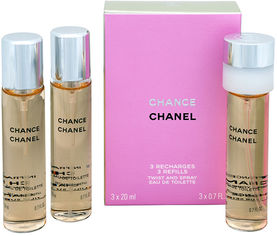 Акция на Туалетная вода для женщин Chanel Chance 20 мл x 3 шт (3145891261004) от Rozetka