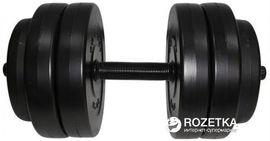 Гантель наборная Newt Rock Pro композитная в пластиковой оболочке 13 кг (NE-PL-G-013) от Rozetka