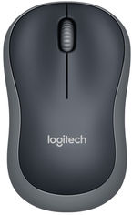 Акция на Мышь Logitech M185 Wireless Grey (910-002238/910-002235) от Rozetka