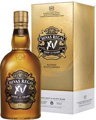 Акция на Виски Chivas Brothers Limited 0.7 л XV 15 лет выдержки 40% в подарочной упаковке (5000299622049) от Rozetka