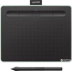 Акция на Графический планшет Wacom Intuos S Bluetooth Pistachio (CTL-4100WLE-N) от Rozetka