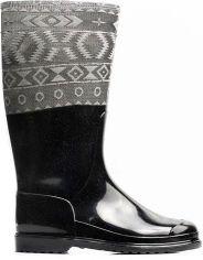Резиновые сапоги OLDCOM Rainy Craft 39/40 Черные (4841347044113) от Rozetka