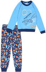 Пижама (футболка с длинными рукавами + штаны) Smil Любимые Игры 104386 98 см Бирюзовая (4824039146395) от Rozetka
