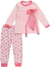 Пижама (футболка с длинными рукавами + штаны) Smil Заветная Мечта 104256 86 см Персиковая (4824039145992) от Rozetka