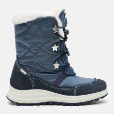 Акция на Сапоги кожаные Primigi 4376711 27 Синие (4376711270275) от Rozetka