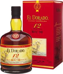 Акция на Ром El Dorado Dark 12 лет выдержки 0.7 л 40% Подарочная упаковка (8715151120799) от Rozetka