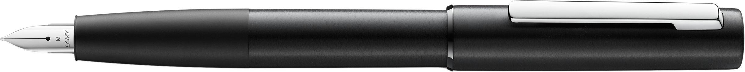 Акция на Ручка чернильная Lamy Aion Чёрная EF / Чернила T10 Синие (4014519689119) от Rozetka