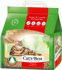 Наполнитель для кошачьего туалета Cats Best Original Древесный комкующий 4.3 кг (10 л) (4002973240922) от Rozetka