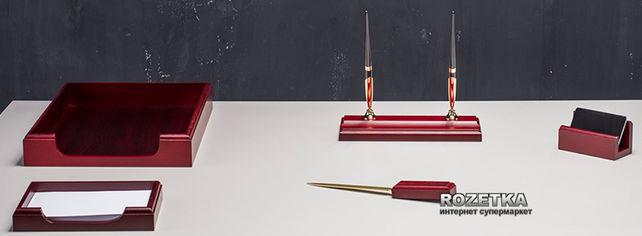 Набор настольный деревянный Bestar 5 предметов Красное дерево (5159XDU) от Rozetka