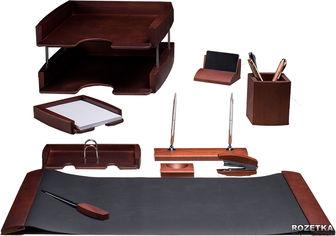 Набор настольный деревянный Bestar 10 предметов Темная вишня (0293DDV) от Rozetka