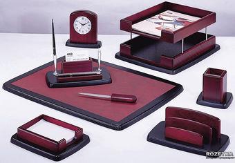 Набор настольный деревянный Bestar 8 предметов Красное дерево (8263XDU) от Rozetka