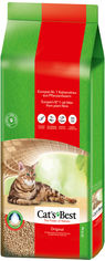 Наполнитель для кошачьего туалета Cats Best Original Древесный комкующий 17.2 кг (40 л) (4002973213094) от Rozetka