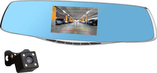 Акция на Видеорегистратор Autoban AVR-13S 2 Cam 1080p FHD Steel (avr13sstl) от Rozetka