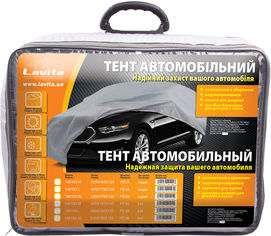 Акция на Тент автомобильный Lavita LA 140103XL Серый от Rozetka