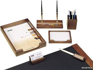 Набор настольный деревянный Bestar 7 предметов Орех (7159XDX) от Rozetka