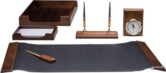 Набор настольный деревянный Bestar 6 предметов Орех (6148XDX) от Rozetka