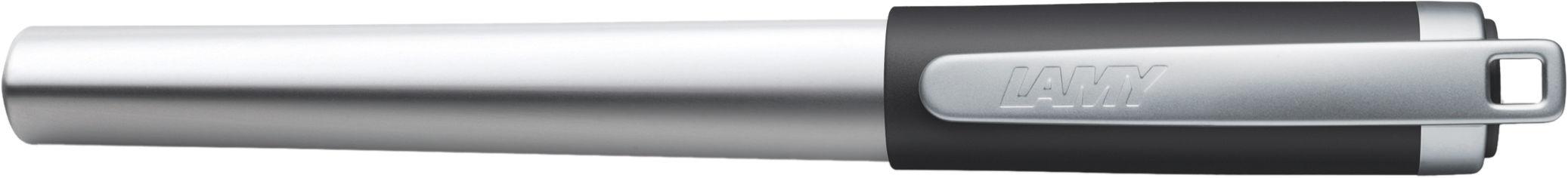 Ручка чернильная Lamy Nexx M Хром с чёрным колпачком A / Чернила T10 Синие (4014519282082) от Rozetka