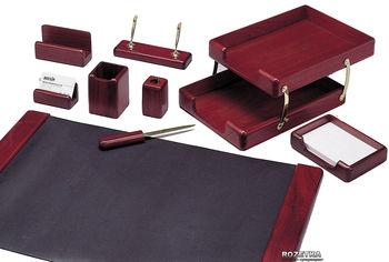 Набор настольный деревянный Bestar 9 предметов Красное дерево (9280WDM) от Rozetka