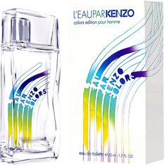 Акция на Туалетная вода для мужчин Kenzo L'Eau Par Colors Pour Homme 50 мл (3274870001307) от Rozetka