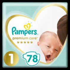 Подгузники Pampers Premium Care Newborn 1 (2-5 кг), 78 шт. от Pampik