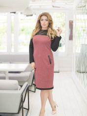 Платье ELFBERG 5149 54 Бордовое (2000000357041) от Rozetka