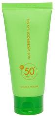 Акция на Солнцезащитный гель Holika Holika Aloe Waterproof Sun Gel 50+ SPF / PA++++ 100 мл (8806334375997) от Rozetka