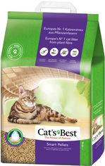 Наполнитель для кошачьего туалета Cats Best Smart Pellets Древесный комкующий 10 кг (20 л) (4002973217429) от Rozetka