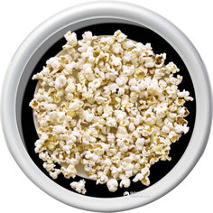 Поднос круглый Emsa Rotation Popcorn 30 х 30 см Белый с рисунком (EM512515) от Rozetka