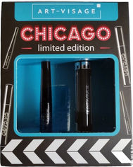 Акция на Набор Art-Visage Тушь для ресниц Chicago Dramatic volume mascara 15 мл + Жидкая подводка черная 3.5 мл (4690327066627) от Rozetka