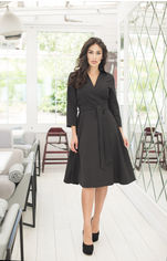 Платье ELFBERG 412 48 Черное (2000000355603) от Rozetka