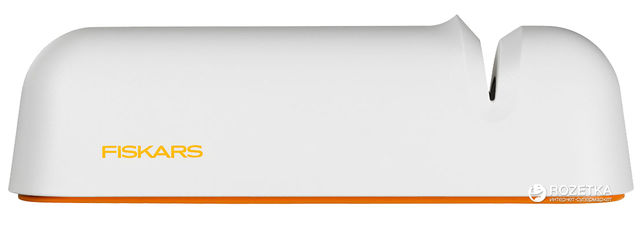 Точилка для ножей Fiskars Functional Form Белая (1014214) от Rozetka