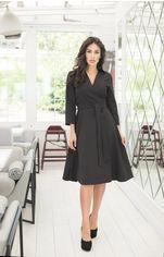 Платье ELFBERG 412 44 Черное (2000000355580) от Rozetka