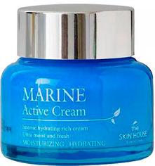 Акция на Крем The Skin House увлажняющий для лица с керамидами Marine Active Cream 50 мл (8809080822739) от Rozetka