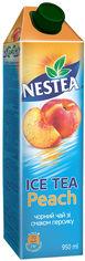 Акция на Упаковка холодного чая Nestea Персик 0.95 л х 12 пачек (4820192260930) от Rozetka