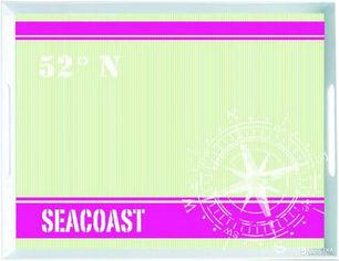 Акция на Поднос прямоугольный Emsa Classic 40 х 31 см Зеленый (EM513569) от Rozetka
