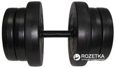 Гантель наборная Newt Rock Pro композитная в пластиковой оболочке 20.5 кг (NE-PL-G-020) от Rozetka