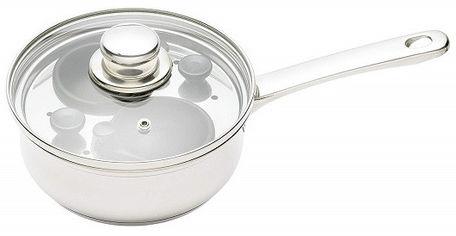 Акция на Пароварка Kitchen Craft для 2 яиц 16 см (124241) от Rozetka