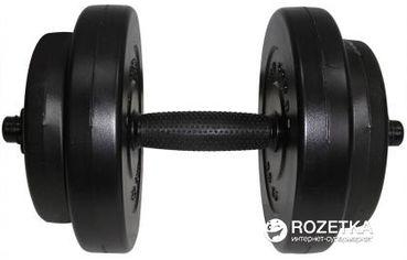 Гантель наборная Newt Rock Pro композитная в пластиковой оболочке 8 кг (NE-PL-G-008) от Rozetka