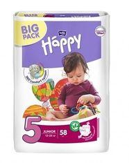 Подгузники Bella Baby Happy 5 (12-25 кг), 58 шт. от Pampik