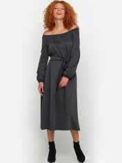 Платье Gingier 90166220 46 Темно-серое (2100000580019) от Rozetka