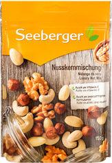 Смесь орехов Экстра Seeberger ядра 150 г (4008258150092) от Rozetka