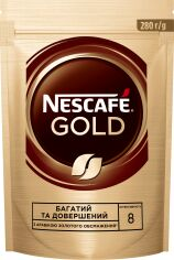 Акция на Кофе NESCAFE Gold растворимый 280 г (7613035878433) от Rozetka