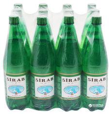 Акция на Упаковка минеральной природной лечебно-столовой газированной воды Сираб 1 л х 12 бутылок (4760023500029) от Rozetka
