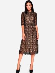 Платье Karree Шанти P1448M4616 M Черное от Rozetka