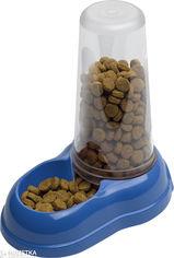 Акция на Диспенсер для воды и корма для собак и кошек Ferplast Azimut 1500 1.5 л Синий (71969099_blue) от Rozetka